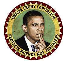 Obama Crony Capitalism Photographic Print