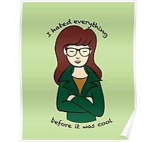 Daria, the Original Hipster Poster