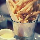 Parmesan Truffle French Fries by Wendy Tienken