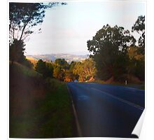 Going home after a long day out, serenity of Kilmore East VIC Australia Poster