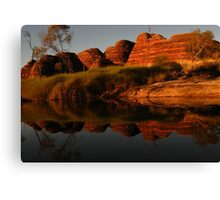 Refections on the Past Canvas Print