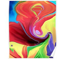 Abstract art +Product Design Poster