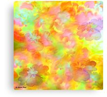 Spring Floral Abstract 41/  art + Product Design Canvas Print