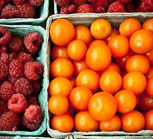 Tomatos and Berries by Dan Lauf