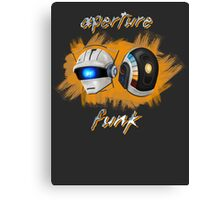 Aperture Funk - Orange Canvas Print
