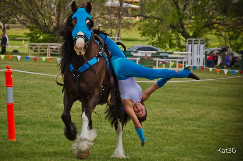 Trick Riding by Kat36