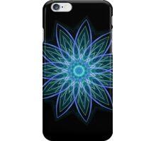 Fractal Flower Blue  iPhone Case/Skin