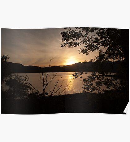 Bute Sunset Poster