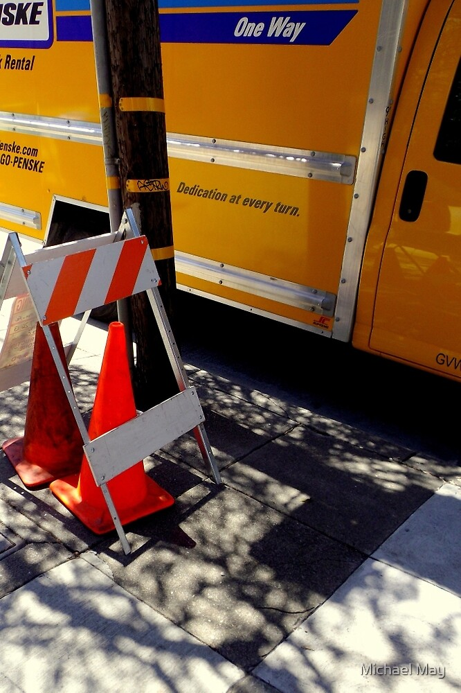 Caution...Safety Cones! by Michael May