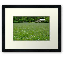 Willamette Valley Landscape Framed Print