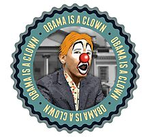 Obama Is A Clown Photographic Print