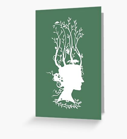 A Crown for Dreaming Greeting Card
