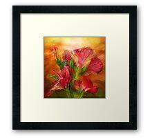 Hibiscus Sky  Framed Print