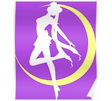 Sailor Moon logo clean Poster