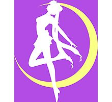 Sailor Moon logo clean Photographic Print