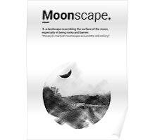 Luke Roberts / Moonscape / Cross Hatch Poster