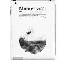 Luke Roberts / Moonscape / Cross Hatch iPad Case/Skin