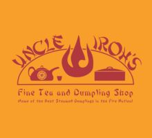 Uncle Iroh's Fine Tea Shop by NevermoreShirts