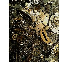 Timepiece Cogs  Photographic Print