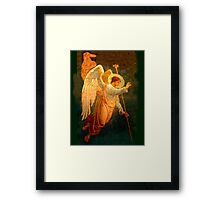 Angel, Halo, Giving Benediction, Church, St Petersburg, Russia Framed Print