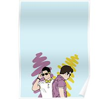 Klaine 5ever (iPhone 5, iPad, sticker, t-shirt, poster/print) Poster