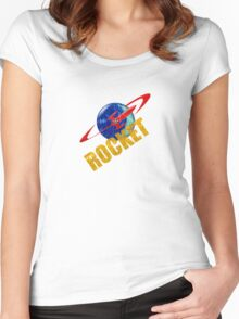 ROCKET VINTAGE 2 Women's Fitted Scoop T-Shirt