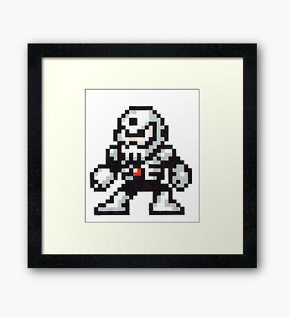 skull man Framed Print