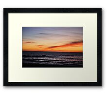 Moonstone Sunset Framed Print