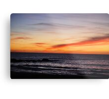 Moonstone Sunset Metal Print