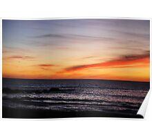Moonstone Sunset Poster