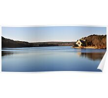 Wachusetts Resevoir Pano  Poster