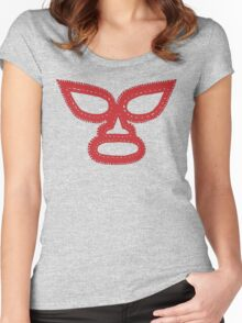 Lucha Libre Mask Women's Fitted Scoop T-Shirt