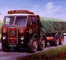 Mike Jeffries classic lorries by Mike Jeffries