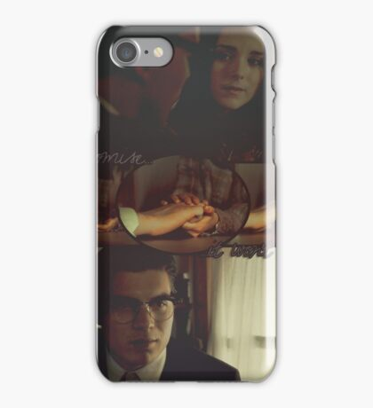 Kate Fuller and Richie Gecko (hands) iPhone Case/Skin