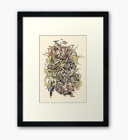 Earth, Air & Water Framed Print