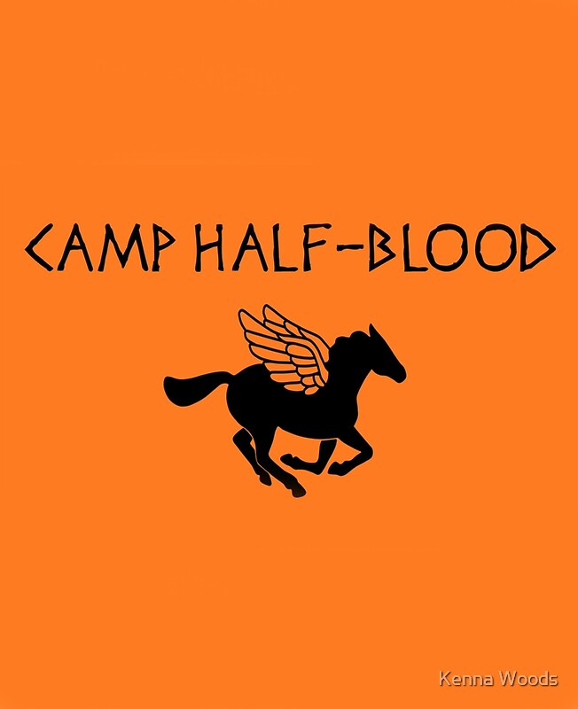 Quot Camp Half Blood Quot Posters By Dellycartwright Redbubble