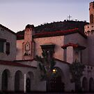 Scotty's Castle at Dusk by HeavenOnEarth
