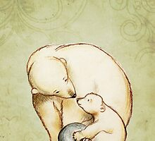 Mother and Cub by Sarah  Mac