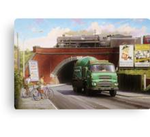Albion truck mixer Canvas Print