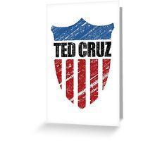 Ted Cruz Patriot Shield Greeting Card