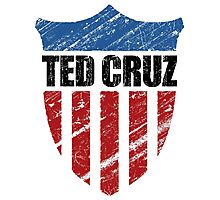 Ted Cruz Patriot Shield Photographic Print