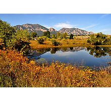 Colorado in September   Photographic Print