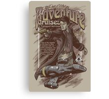 Adventure Cruises Parody Canvas Print