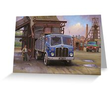 AEC Mercury Mk II  tipper Greeting Card