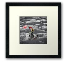 Saving Summer Framed Print