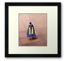 Marriage Equality rally in Honolulu .3 Framed Print