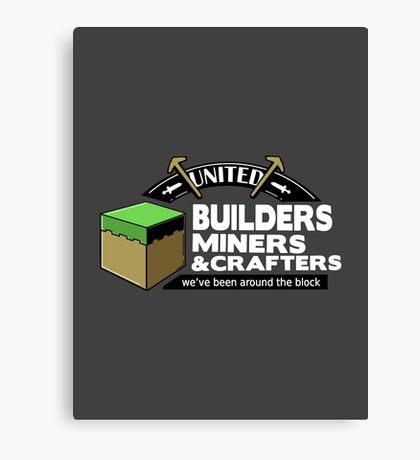 Been Around the Block - Minecraft Shirt Canvas Print