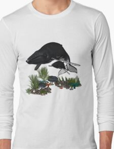 Humpback Whales Long Sleeve T-Shirt