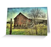 Color Me Distressed Greeting Card