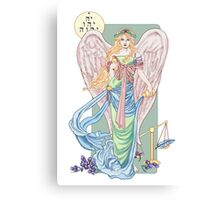 Temperance Tarot Card Canvas Print